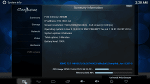 MINIX NEO X8 XBMC Settings