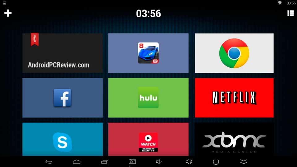 TVLauncher – The Android launcher designed for Mini-Pc's