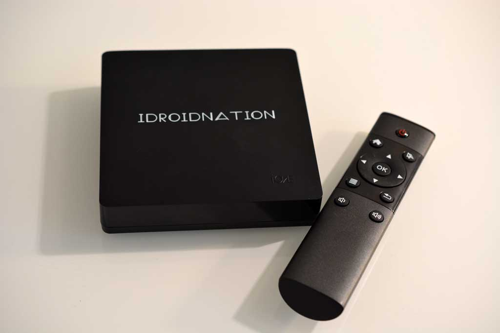 iDroidNation octa-core streaming device