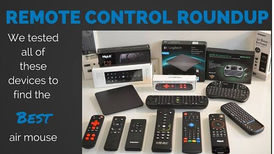 Best Air Mouse for Kodi and Android TV Box