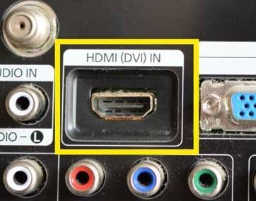 TV-connections---HDMI