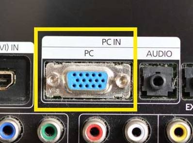 TV-connections---VGA