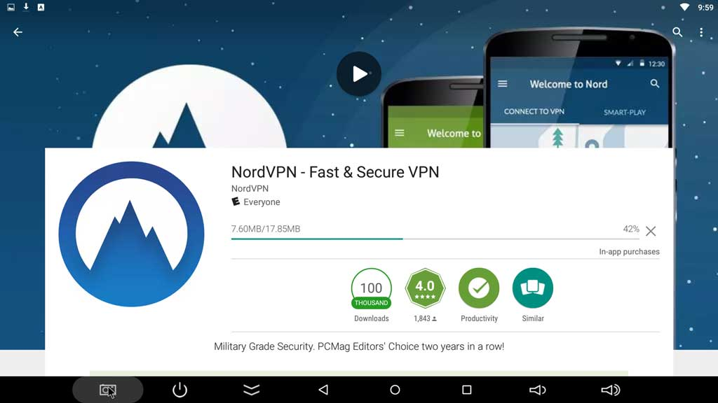 How to install the NordVPN Android app