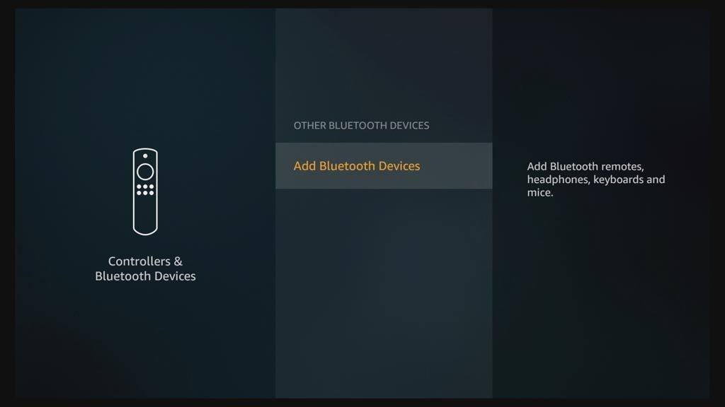 How to add an Amazon Fire TV Bluetooth keyboard