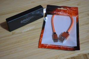 USB as your Amazon Fire Stick power cable