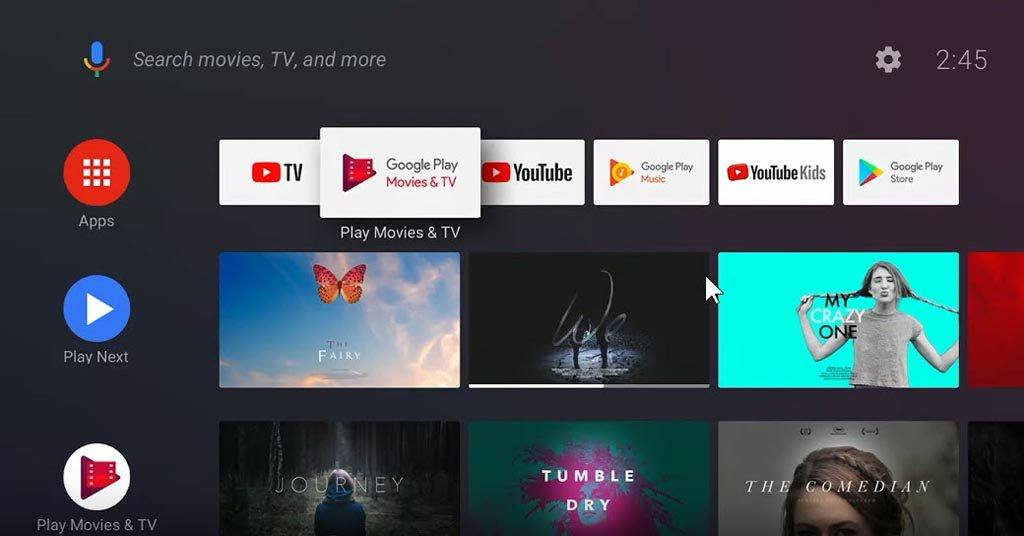 Android TV News: New Launcher