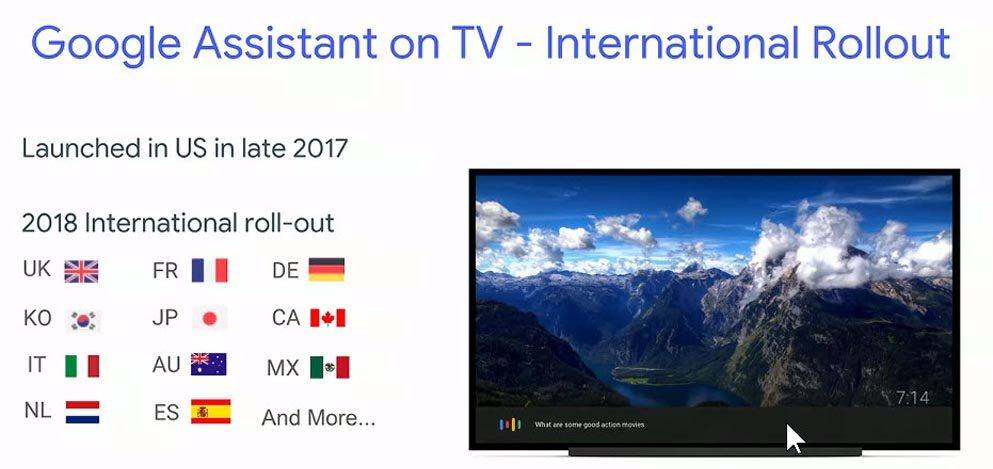 Big Android TV news coming out of Google I/O