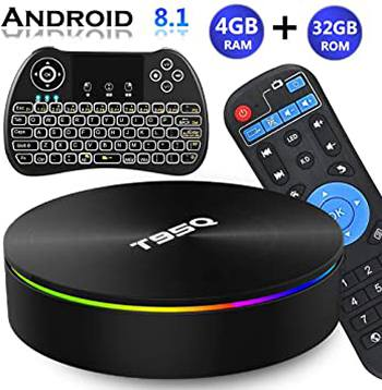 EVANPO Android TV Box 8.1 - Best For Keyboard Lovers