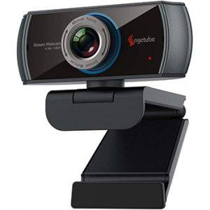 Angetube 1080P Web Camera With 100-Degree View Angle