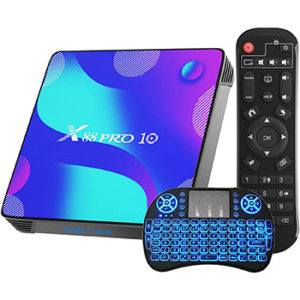 X88 Pro 10 Android TV Box