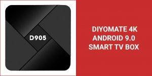 Diyomate 4K Android 9.0 Smart TV Box